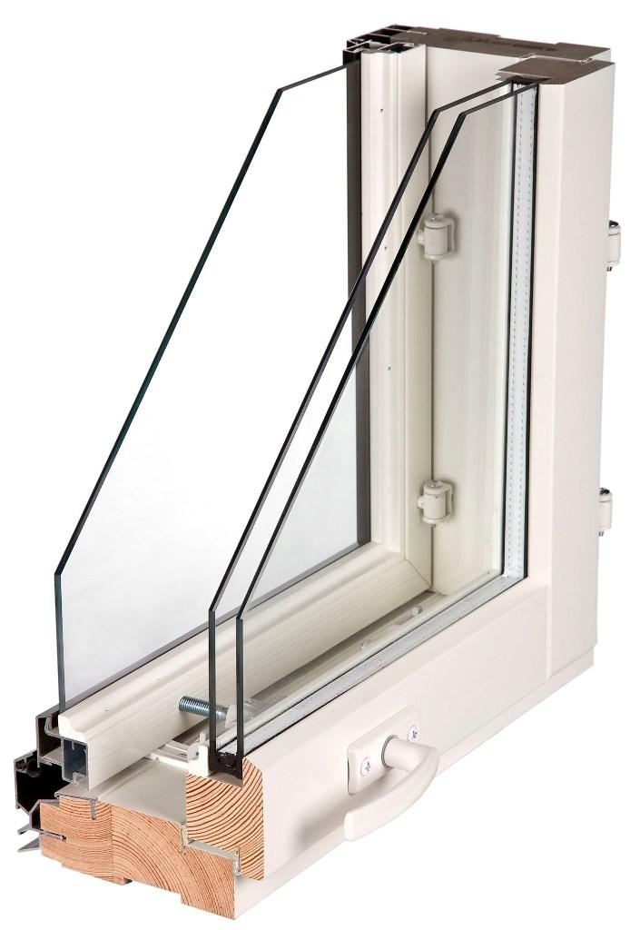 Конструкция финского окна Lammin
