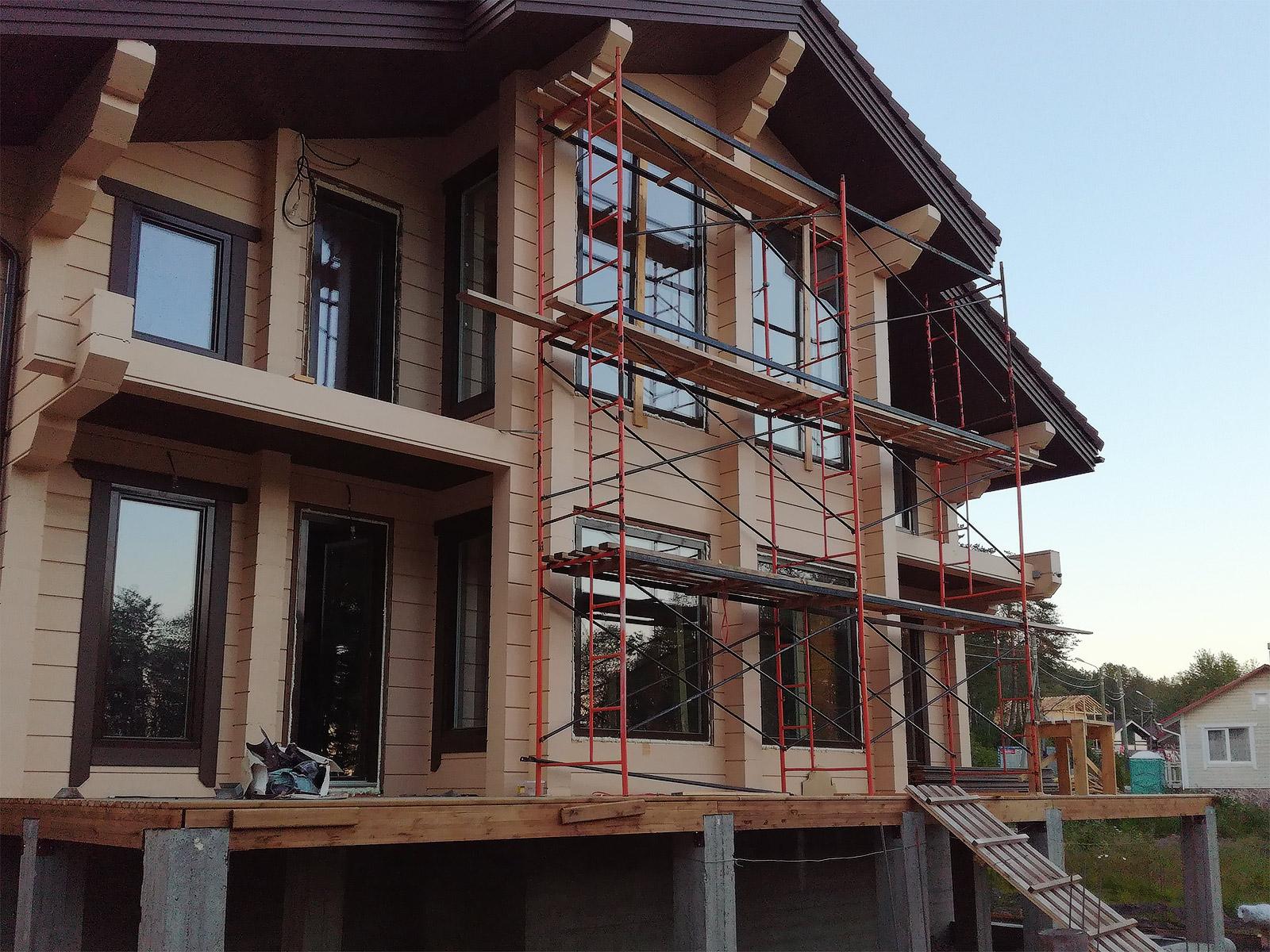 Купить дерево-алюминиевые окна Skaala от производителя