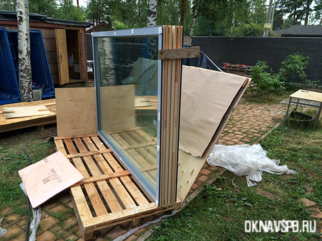 Фиские окна profin в СПБ
