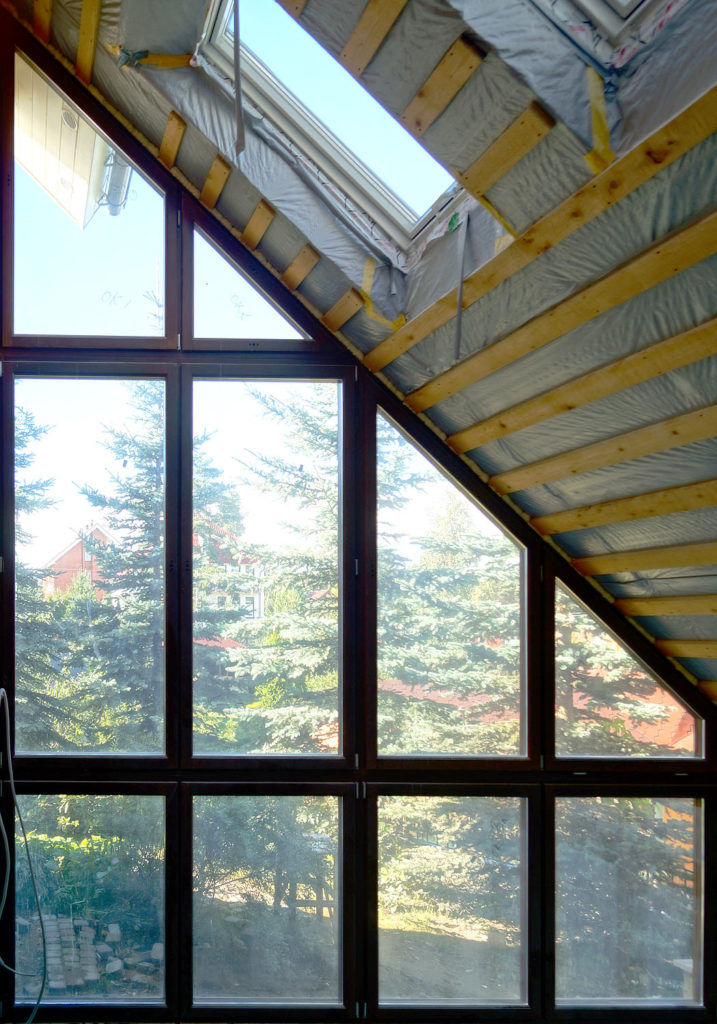 Зимний сад из окон Eurotiivi